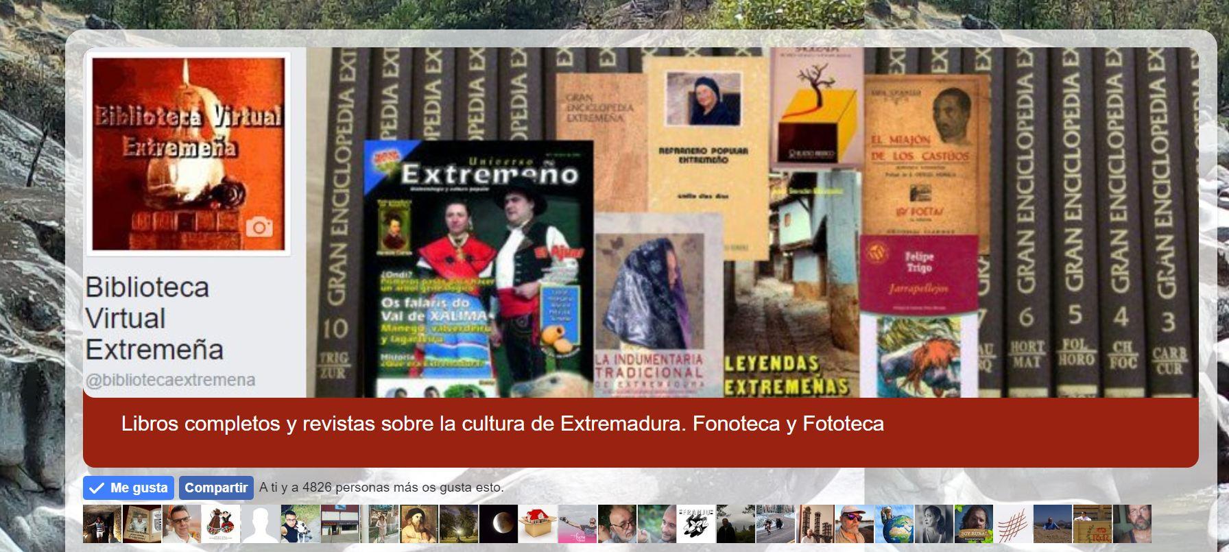 2003 Precedentes, Biblioteca Virtual Extremeña y otros proyectos