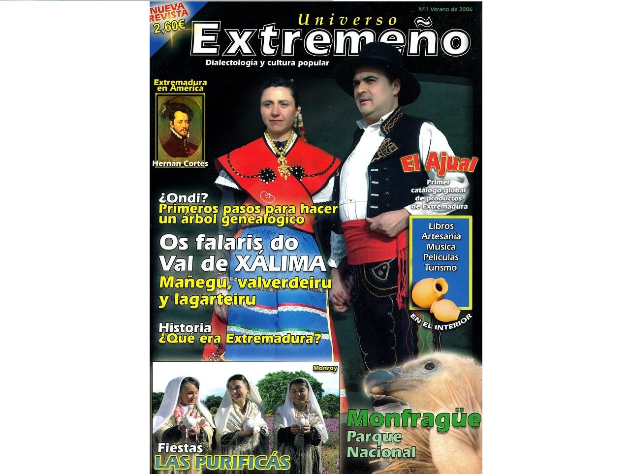 2006 Precedentes. Revista Universo Extremeño